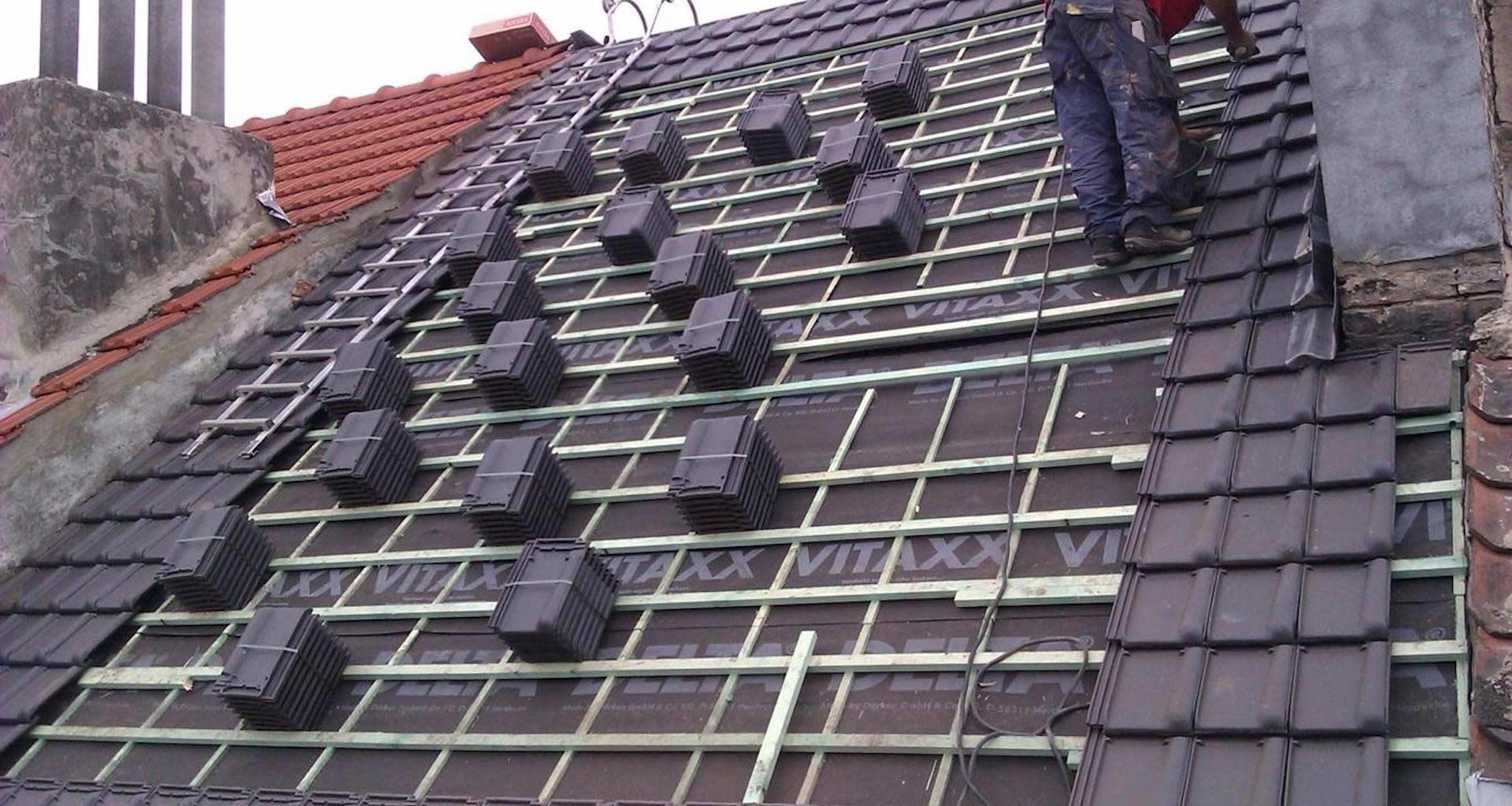 Rénovation toiture à Bruxelles 1