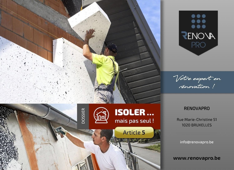Isolation par la façade : l'utile à l'agréable !
